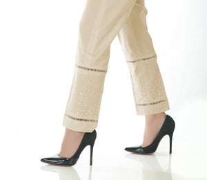 LSM Embroidered Stitched Trousers S20-TR-BG-01
