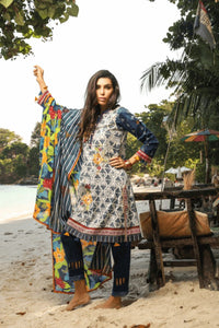 Lakhany Embroidered Print Lawn 2020 Suite PLC-2051