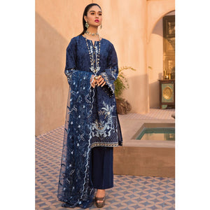 Gul Ahmed Embroidered Jacquard Stitched 3 Piece Suit Suit PM-310
