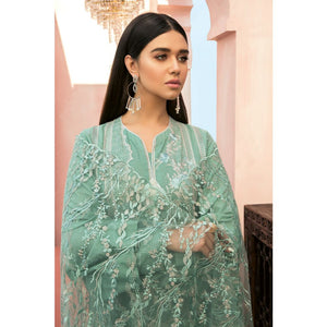 Embroidered Jacquard Unstitched 3 Piece Suit Suit PM-311