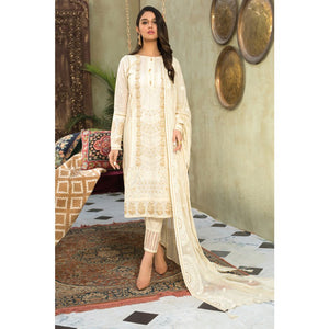 Gul Ahmed Embroidered Jacquard Unstitched 3 Piece Suit PM-352