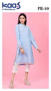 Gul Ahmed Kaaj 01 Piece Stitched Shirt PR-10