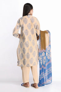 Khaadi 3 Piece Dobby Unstitched Suit R-20203-A Off White