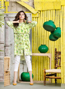 Gul Ahmed 1PC Digital Printed Shirt Shirt SDV-10 B