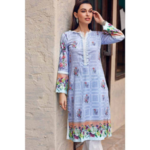 Ready To Wear Gul Ahmed Printed Lawn Stitched Kurti SL-608