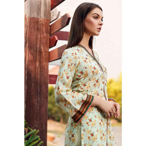 Gul Ahmed Printed Lawn Unstitched Kurties SL-643
