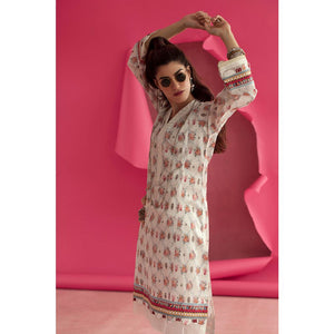 Ready to Wear Gul Ahmed Printed Lawn Stitched Kurties SL-832