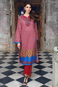 Printed Lawn Unstitched Kurties SL-858 B