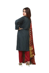 Style Aloud Stitched 3 Piece Suit SS-021
