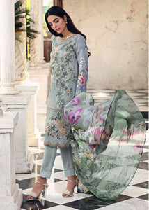 Ready to wear Printed with Silk Dupatta 3 Piece Suit SSM-14