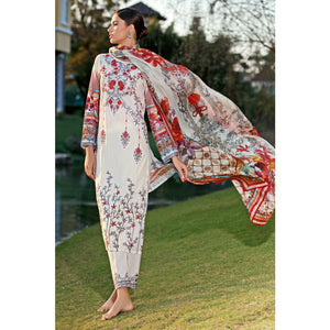 Gul Ahmed Embroidered Jacquard Unstitched 3 Piece Suit SSM-17