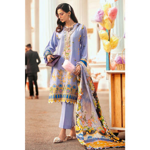 Gul Ahmed Embroidered Jacquard Unstitched 3 Piece Suit SSM-39