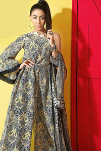 Gul Ahmed 3 Piece Summer Premium Collection Unstitched Soya Silk Suit - SY-17