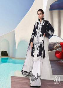 Sana Safinaz Cotton Collection 2019 - Black & White