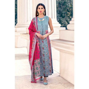Printed Lawn Unstitched 2 Piece Suit TL-168 A