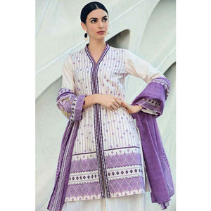 Embroidered Lawn Unstitched 2 Piece Suit TL-169 B
