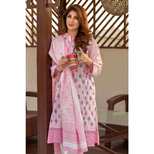 Printed Lawn Unstitched 2 Piece Suit TL-181 A