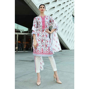 Embroidered Lawn Unstitched 2 Piece Suit TL-184 B