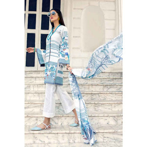 Printed Lawn Unstitched 2 Piece Suit TL-186 A