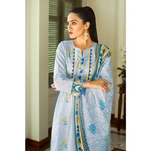 Embroidered Lawn Unstitched 2 Piece Suit TL-188 B