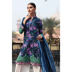 Embroidered Lawn Unstitched 2 Piece Suit TL-199 B