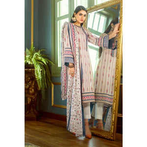 Embroidered Lawn Unstitched 2 Piece Suit TL-201 B