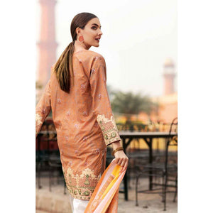 Gul Ahmed Embroidered Lawn Unstitched 2 Piece Suit TL-203 A