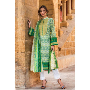 Embroidered Lawn Unstitched 2 Piece Suit TL-217 B