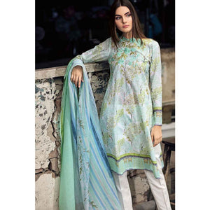 Embroidered Lawn Unstitched 2 Piece Suit TL-221 A