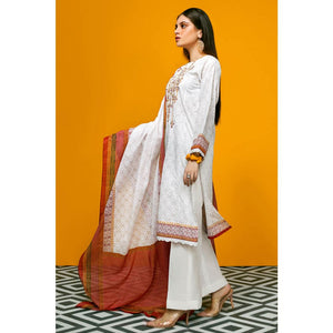 Ready to Wear Gul Ahmed Embroidered Lawn Stitched 2 Piece Suit TL-240 A