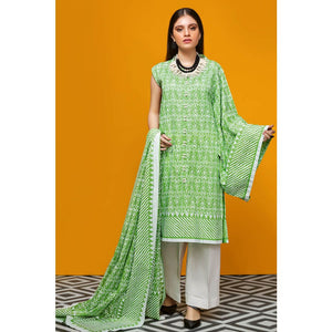 Printed Lawn Unstitched 2 Piece Suit TL-244 A