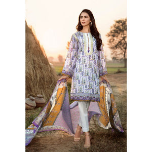 Embroidered Lawn Unstitched 2 Piece Suit TL-246 A