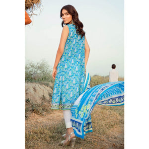 Embroidered Lawn Unstitched 2 Piece Suit TL-247 B