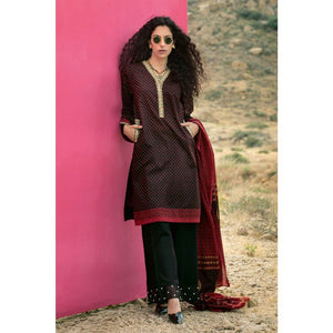 Embroidered Lawn Unstitched 2 Piece Suit TL-249 B