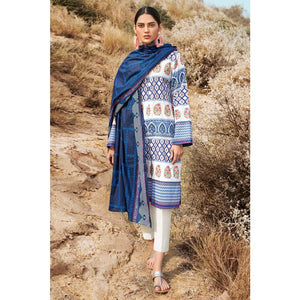 Printed Lawn Unstitched 2 Piece Suit TL-250 A