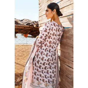 Gul Ahmed Embroidered Lawn Unstitched 2 Piece Suit TL-252 A