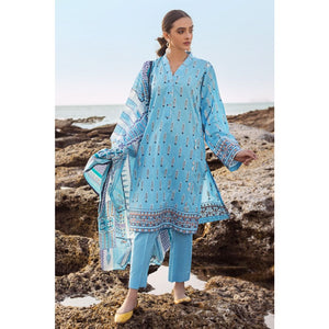 Gul Ahmed Digital Printed Lawn 2 Piece Suit TL-257 B