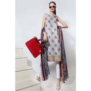 Embroidered Lawn Unstitched 2 Piece TL-258 A