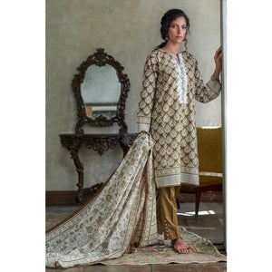 Embroidered Lawn Unstitched 2 Piece Suit TL-260 B