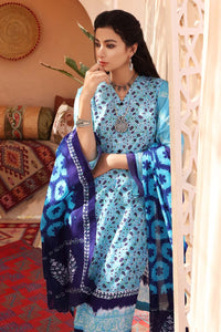 2 PC Unstitched Digital Printed Lawn Shirt With Printed Lawn Dupatta TL-348