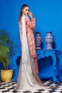 2 Piece Unstitched Digital Printed Lawn Suit TLP-16 A