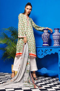 2 Piece Unstitched Digital Printed Lawn Suit TLP-16 B