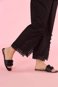 Ready To Wear Gul Ahmed Stitched Black Trousers TR-19-35