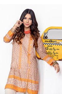 Ready to wear Printed Lawn Stitched Kurti By LSM-1580-ST