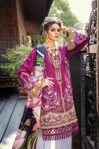 Baroque 3 Piece Unstitched ladies lawn suit Velveteria 02
