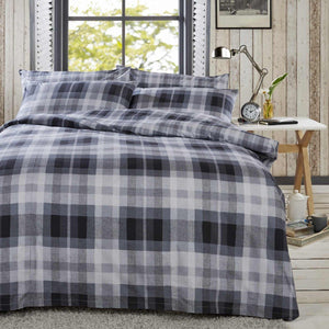 Vantona Easy Living Rabelle Duvet Cover Set - Grey
