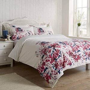Vantona Cherry Blossom Floral Duvet Cover Set - Multi