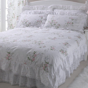 Vantona Country Charlotte Duvet Cover Set - Pink