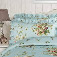 Vantona Country Madeleine Duvet Cover Set - Duck Egg