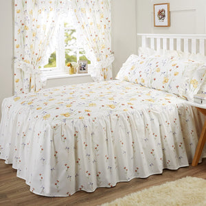 Vantona Country Vanessa Quilted Fitted Bedspread - Multi